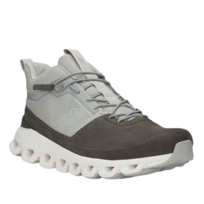 BOTA ON RUNNING CLOUD HI MASCULINA CINZA