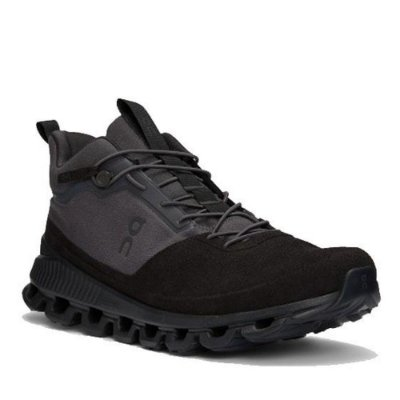 BOTA ON RUNNING CLOUD HI MASCULINA PRETO