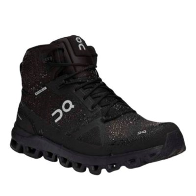 BOTA ON RUNNING CLOUDROCK WATERPROOF MASCULINA PRETO