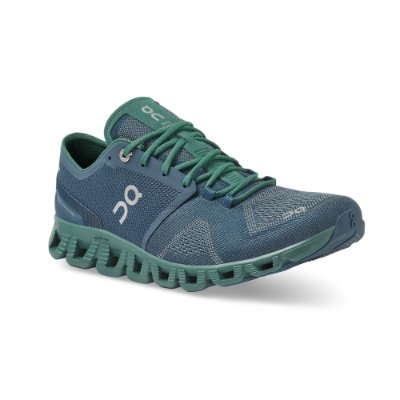 TÊNIS ON RUNNING CLOUD X MASCULINO AZUL ESCURO