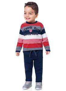 Conjunto Masculino com Camiseta e Calça - Milon