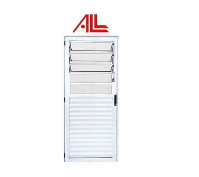 Porta Basculante 2,10 x 0,80 / Alumínio Branco