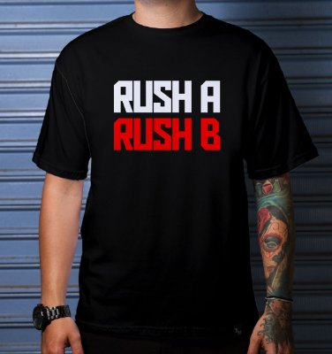 CAMISETA CASUAL RUSH