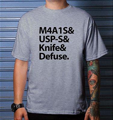 Camiseta Casual Weapons