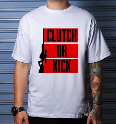 Camiseta Casual Cluth Or Kick