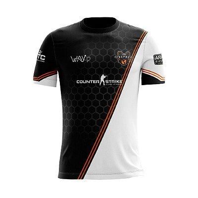 Camiseta Esportiva Jersey Cs:Go Da Depressão