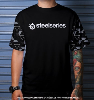 Camiseta Casual Steelseries Limited