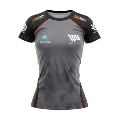 BABY LOOK ESPORTIVA WP GAMING fa5be38062f