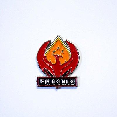 Pin Metálico Phoenix