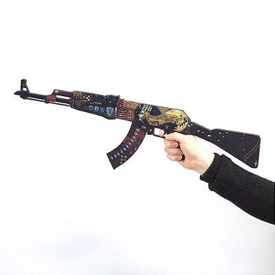 SKIN AK47 IMPERATRIZ EM MDF