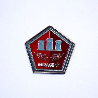 Pin Metálico Mirage
