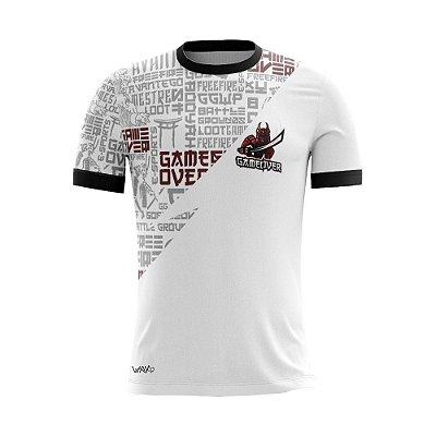 Camiseta Esportiva Jersey Game Over
