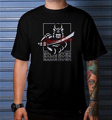 Camiseta Casual Gamer Over