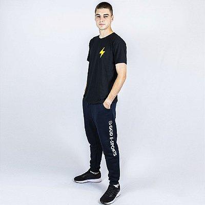 Camiseta Casual Preta GOD Esports