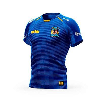 Camiseta Esportiva Jersey Rensga Azul