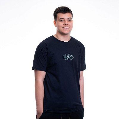 Camiseta casual Preta Nicks Fps