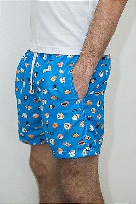 Shorts de Verão Sushi