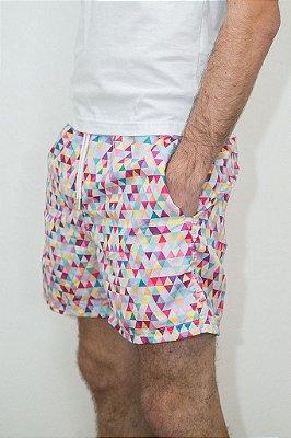 Shorts Verão Geométrico