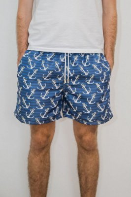 Shorts de Verão Âncora