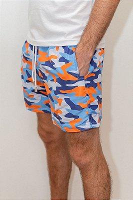 Shorts de Verão Camuflado