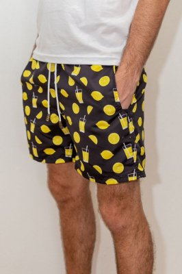 Shorts de Verão Limonada