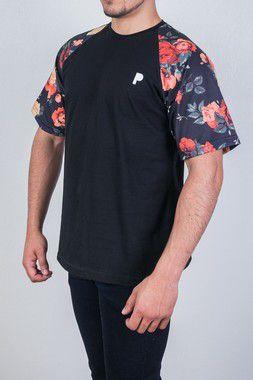 Camiseta Player Black Flower