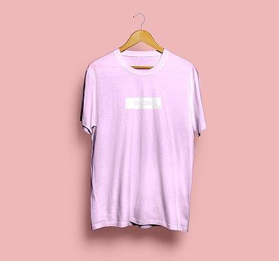 Camiseta LOGOBOX | Rosa
