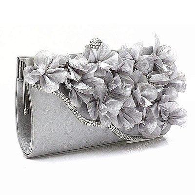 Bolsa Clutch de Flores