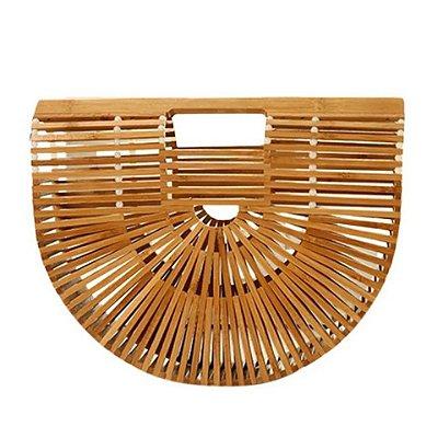 Bolsa Clutch de Bambu