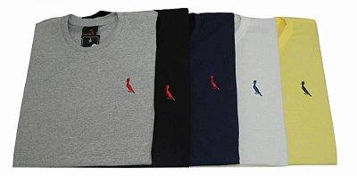 Kit Com 5 Camisetas Básica Manga Curta Reserva
