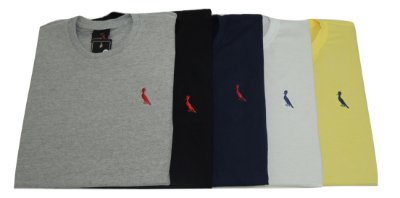 Kit Com 10 Camisetas Básica Manga Curta Reserva