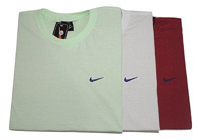 Kit Com 3 Camisetas Básica Manga Curta Nike