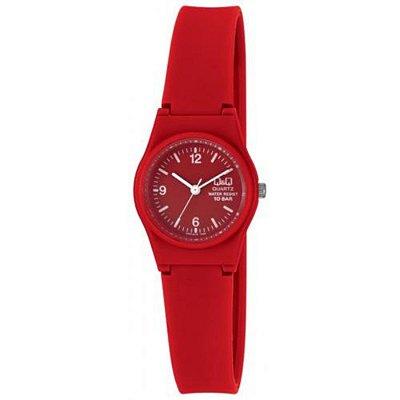 Relógio Feminino Vermelho Pequeno Ponteiro Prova D'Água