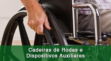Cadeiras de Rodas e Dispositivos Auxiliares