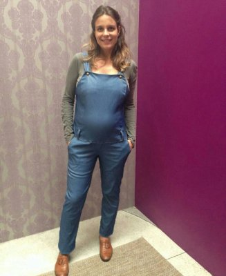 Macacão Longo Gestante Mood Fashion Maternity