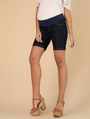 Bermuda Jeans Gestante Megadose