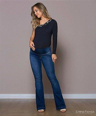 Calça Jeans Gestante Conforto Emma Fiorezi