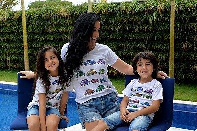 Camiseta Infantil Estampa Fusca