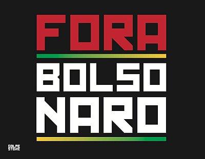 Bandeira Fora Bolsonaro