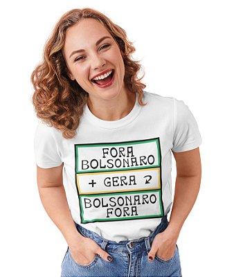 Babylook Gentileza Fora Bolsonaro