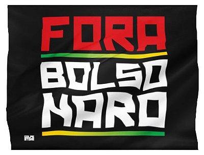 Bandeira Fora Bolsonaro Grande