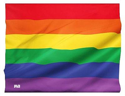 Bandeira LGBTQIA+ (95cm x 70cm)