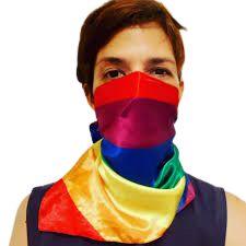 Lenço Arco-Íris LGBT listras
