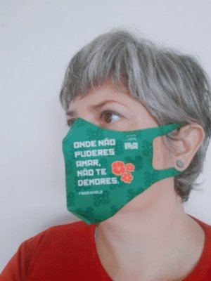 MÁSCARA NEOPRENE FRIDA KAHLO - Tam Juvenil