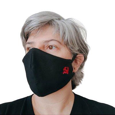 Máscara Tecido Socialismo Bordado - 2x1