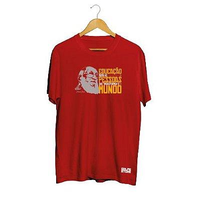 Camisa Básica Paulo Freire - Promoção