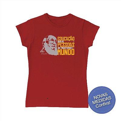 Camisa Infantojuvenil Paulo Freire