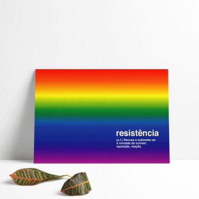 Painel Resistência LGBT - Red Friday
