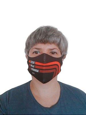 Máscara Neoprene Siga Pela Esquerda