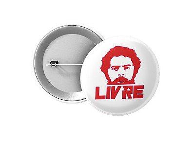 Botton Lula Livre